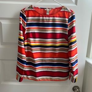 Banana Republic striped blouse size S
